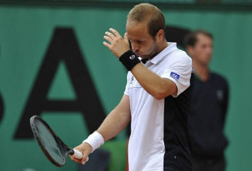 Olivier Rochus uitgeschakeld op Roland Garros