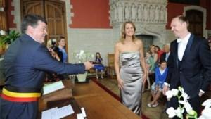 Kristl Strubbe geeft jawoord in Mechels stadhuis