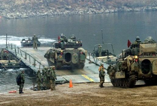 Grootschalige militaire oefening Zuid-Korea