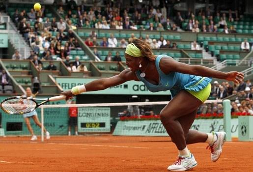 Serena Williams wel naar kwartfinales Roland Garros