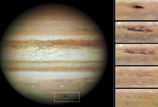 Gigantisch litteken op Jupiter door asteroïde