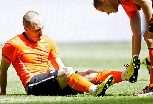 Arjen Robben wellicht toch naar WK