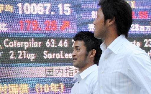 Nikkei verliest pluimen