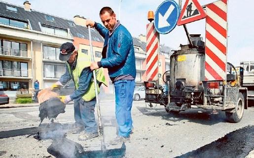 Herstel winterschade in Hamme uitgesteld