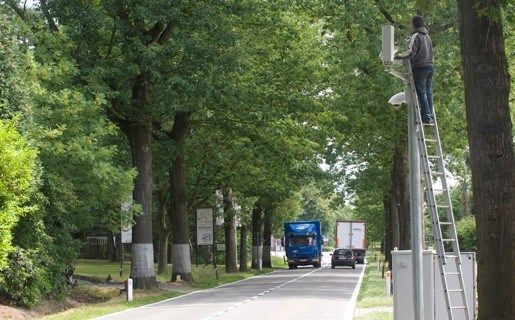 Trajectcamera filmt overtredingen tussen Herentals en Bobbejaanland