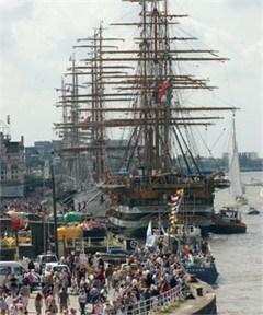 Wie helpt Tall Ships Races?