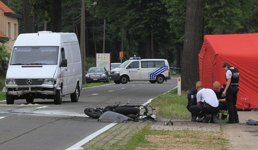 Motard verongelukt in Gierle