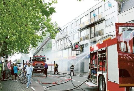 Verdachte opgepakt voor brandstichting in appartement