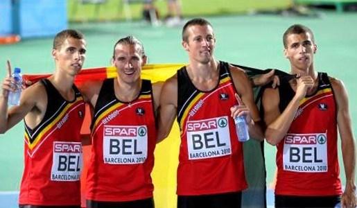 Belgische mannen pakken brons op EK