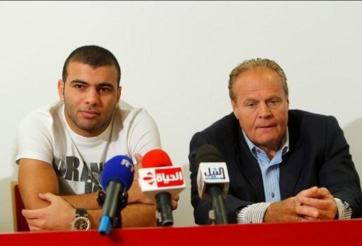 Nieuwe Standard-spits Meteb zit weer in Egypte