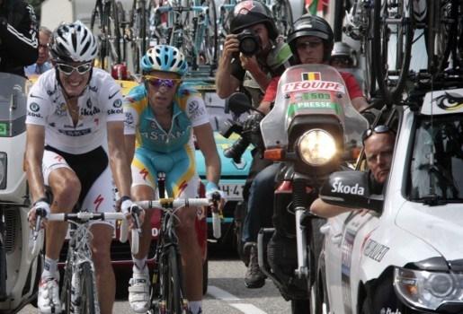 Contador kiest voor Riis