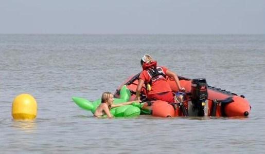 Minder tussenkomsten door strandredders