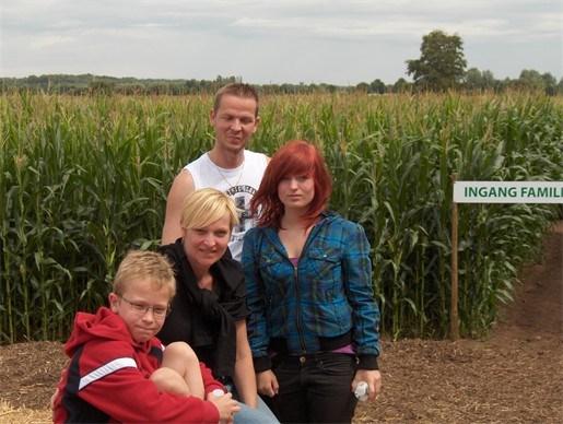 Maïsdoolhof slaat aan bij groot en klein