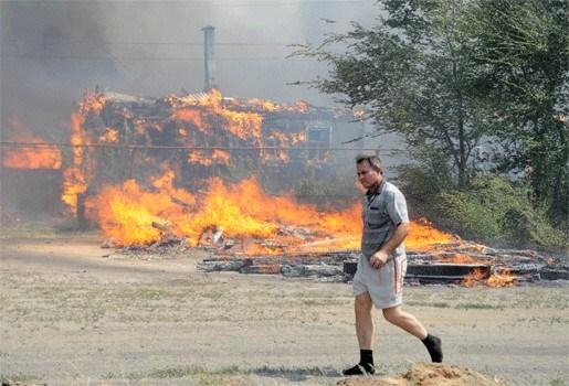 Al 48 dodelijke slachtoffers door bosbranden Rusland