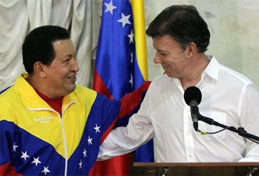 Colombia en Venezuela leggen ruzie bij