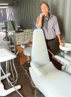 Mobiele tandartsenpraktijk gaat op de boot naar Turkije
