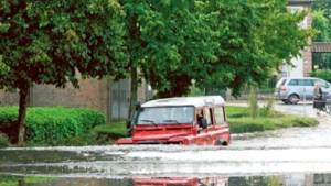 Wateroverlast in Dilsen, Tongeren, Bilzen en Hoeselt