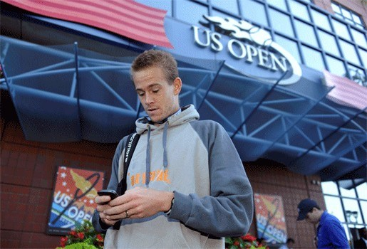 US Open ook voorbij voor Kristof Vliegen