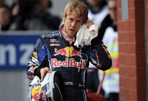 """Vettel rijdt te slordig om wereldtitel te grijpen"""