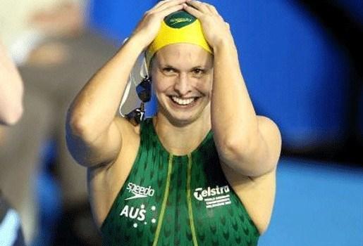 Zwemkampioene Libby Trickett maakt comeback