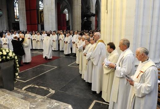 Aantal kandidaat-priesters in Vlaanderen stijgt