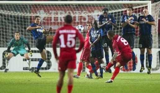 Twente speelt gelijk tegen Inter Milaan