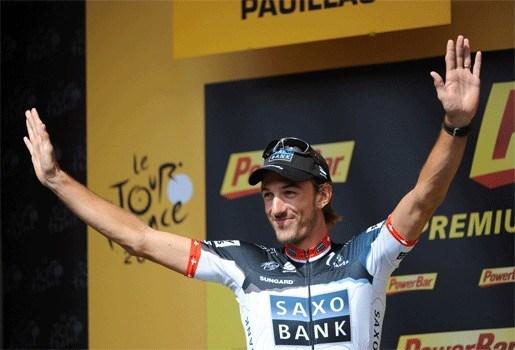 Fabian Cancellara rijdt tijd- en wegrit in Geelong