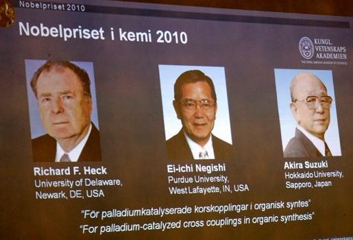 Nobelprijs voor Chemie voor Amerikaan en Japanners