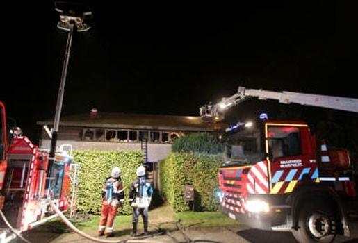 Uitslaande brand in appartementsgebouw in Wuustwezel