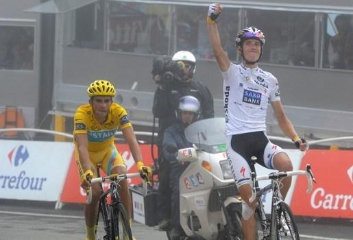 Contador niet langer Tourwinnaar voor Deens gokkantoor