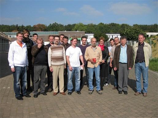 Houtbewerkers uit Estland op stage in Westerlo
