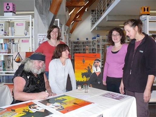Zjuul Krapuul signeert reproducties