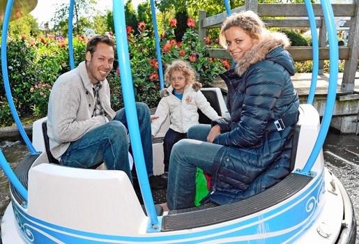 Kim Clijsters met 10.000 kinderen naar Plopsaland