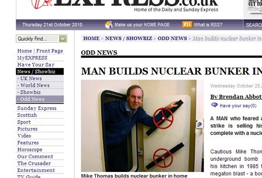 Te koop: Huis met nucleaire schuilkelder