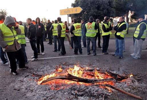Voorraad bij kwart Franse tankstations uitgeput
