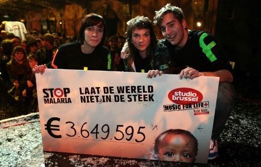 Antwerpenaar loopt 130 km voor Music for Life