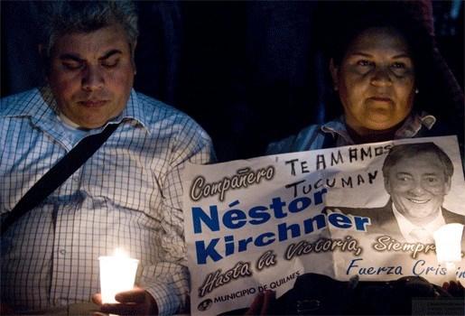 Vragen over leiderschap president Fernández na dood Kirchner