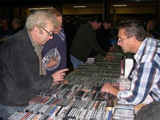 Terug een historische overzichtstentoonstelling op platen- en cd-beurs