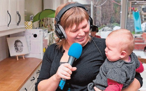 Radiostem presenteert in het kader van nationale thuiswerkdag vanuit haar salon