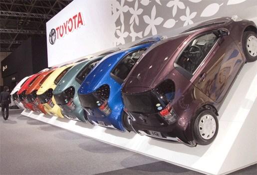 Bijna alle in België verkochte Toyota iQ's weer naar garage