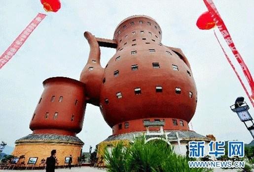Grootste theepot ter wereld herbergt museum