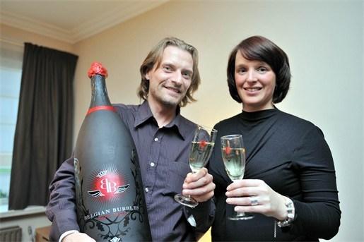 BV's drinken Belgian Bubbles uit Massenhoven
