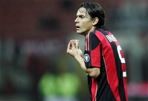 Seizoen voorbij voor Filippo Inzaghi