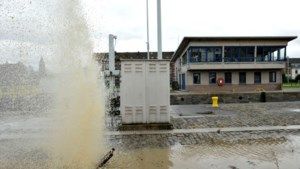 Overstromingsgevaar geweken maar water blijft staan