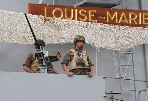 Belgische marine redt zes vissers van verdrinkingsdood