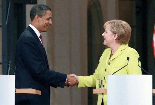 Merkel ontvangt hoogste burgerlijke onderscheiding VS