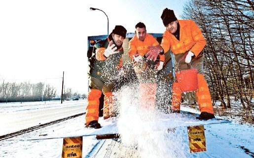 Antwerpen en haar districten klaar voor strenge winter