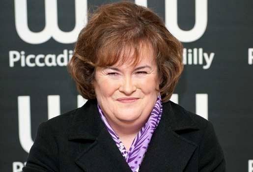 Susan Boyle voert hitlijsten opnieuw aan