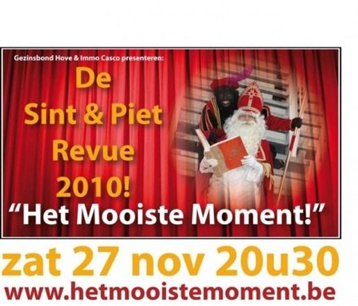 Sint en Piet Revue in Hove