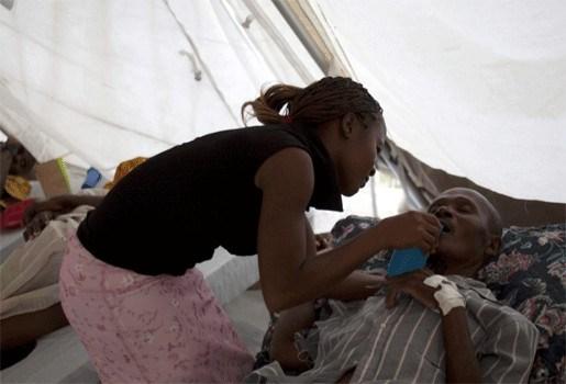 Cholera-epidemie Haïti verspreidt zich sneller dan verwacht